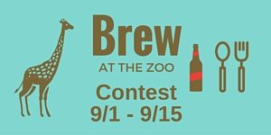 Brew at the zoo contest